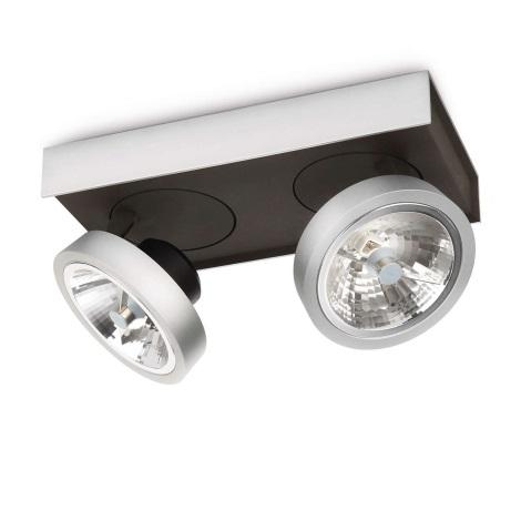 Philips Lirio 57982/48/16 - Bodové svietidlo BONQ 2xG53/45W/230V