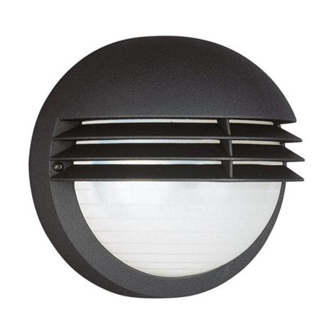 Philips Massive 01302/01/30 - Vonkajšie nástenné svietidlo BOSTON 1xE27/60W čierna