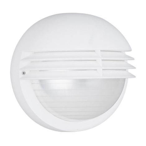 Philips Massive 01302/01/31 - Vonkajšie nástenné svietidlo BOSTON 1xE27/60W biela