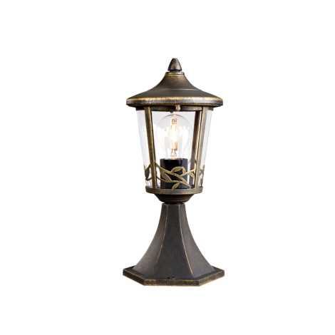 Philips Massive 15392/42/10 - vonkajšia lampa CHARTRES 1xE27/60W/230V hnedá patina