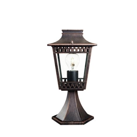 Philips Massive 15402/86/10 - vonkajšia lampa ISTANBUL 1xE27/60W/230V hrdzavá