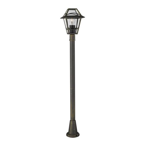 Philips Massive 15423/42/10 - Vonkajšia lampa BABYLON 1xE27/60W zlatá platina