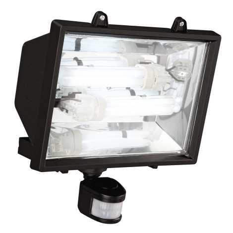 Philips Massive 16266/30/10 - Vonkajšia reflektor sa senzorem 16266/30/10 2xG24D/26W