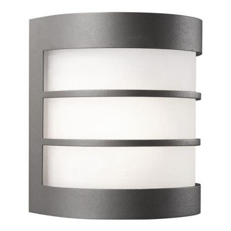 Philips Massive 17025/93/50 - LED Vonkajšie nástenné svietidlo CALGARY 1xE27-LED/9,5W/230V