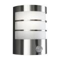 Philips Massive 17026/47/10 - Vonkajšie nástenné svietidlo s čidlom 1xE27/60W/230V