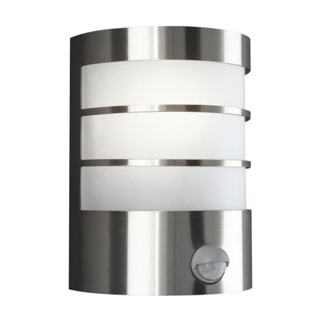 Philips Massive 17026/47/10 - Vonkajšie nástenné svietidlo s čidlom CALGARY 1xE27/60W/230V