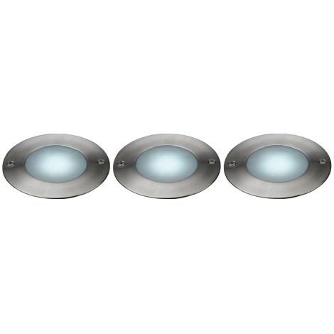 Philips Massive 17078/47/10 - LED Vonkajšie nájazdové svietidlo LAKONIA 3xLED/0,36W