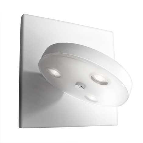 Philips Massive 33258/31/10 - Nástenné LED svietidlo LOUISE 3xLED/2,5W/230V biela