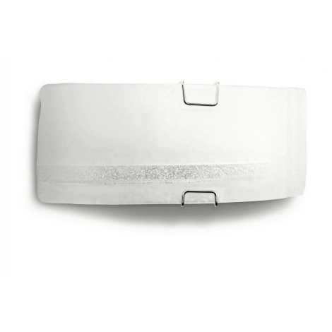 Philips Massive 33284/31/10 - Nástenné svietidlo SIMONE 1xE27/60W biela
