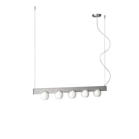 Philips Massive 37511/48/10 - Luster na lanku 37511/48/10 5xG9/60W biela