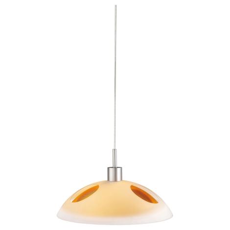 Philips Massive 40242/53/10 - Závěsný luster LAUTRA 1xE27/100W/230V oranžová