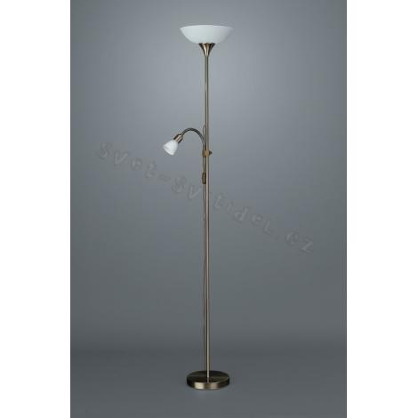 Philips Massive 42084/06/10 - Podlahová lampa FOCA 1xE27/100W/230V - 1xE14/40W/230V