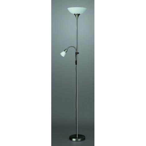 Philips Massive 42084/17/10 - Lampa dlážková FOCA 1xE27/100W/230V - 1xE14/40W/230V