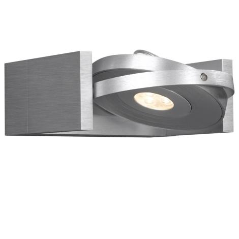 Philips Massive 53150/48/10 - Bodové svietidlo VISION 1xLED/7,5W/230V hliník