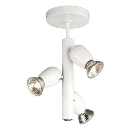 Philips Massive 54443/31/10 - Bodové svietidlo OZZY 3xGU10/50W biela