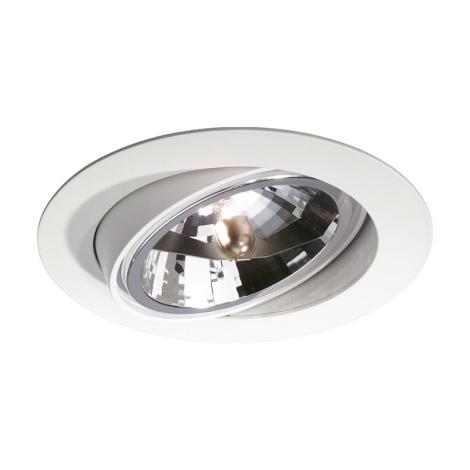 Philips Massive 59040/31/81 - Kúpeľňové podhľadové svietidlo DUBLIN 1xG53/50W/230V