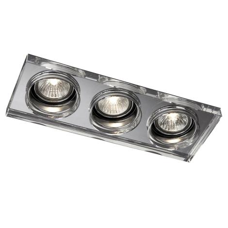Philips Massive 59563/11/10 - LED kúpeľňové podhľadové svietidlo SAPPHIRE 3xLED/10W