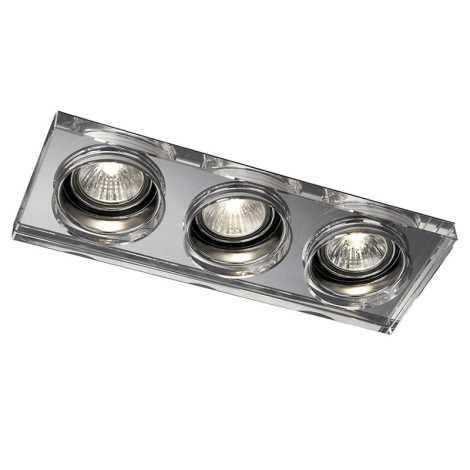 Philips Massive 59563/11/10 - LED kúpeľňové podhľadové svietidlo SAPPHIRE 3xLED/4W