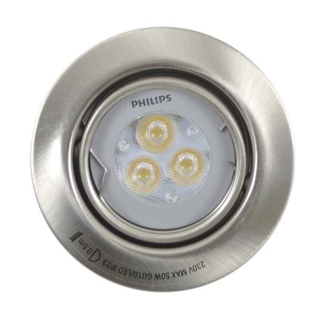 Philips Massive 59620/17/10 - LED kúpeľňové podhľadové svietidlo SHINE 1xLED/3W/230V