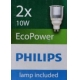 Philips Massive 59657/48/10 - Downlight HEZE 2xGU10/10W hliník