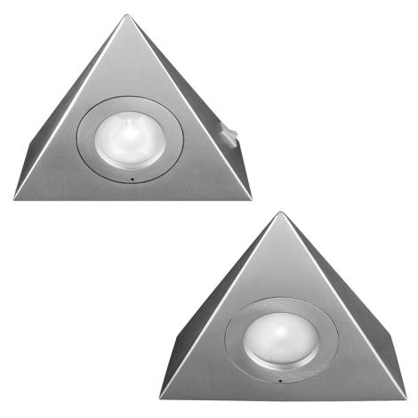 Philips Massive 59704/48/10 - Kuchyňské svietidlo SESAME 2xG4/20W/12V
