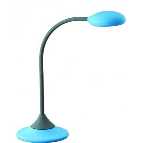 Philips Massive 66622/35/10 - Stolná lampa WARREN 1xGX53/9W modrá