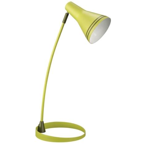 Philips Massive 67322/33/10 - Stolná lampa SCOTT 1xE27/12W zelená