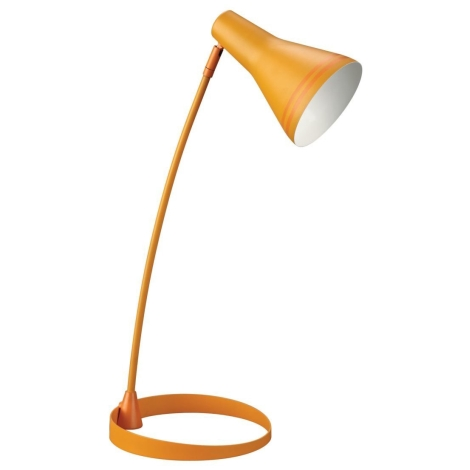 Philips Massive 67322/53/10 - Stolná lampa SCOTT 1xE27/12W oranžová