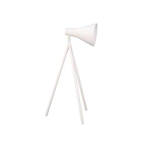 Philips Massive 67323/31/10 - Stolná lampa TRENT 1xE27/15W biela