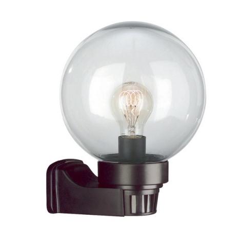 Philips Massive 71898/01/65 - MALTA nástenné svietidlo sa senzorem 1xE27/60W/230V čierna