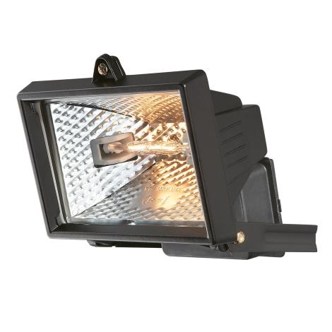 Philips Massive 74902/21/30 - FARO Halogenový reflektor čierny 1xR7S78/150W/230V