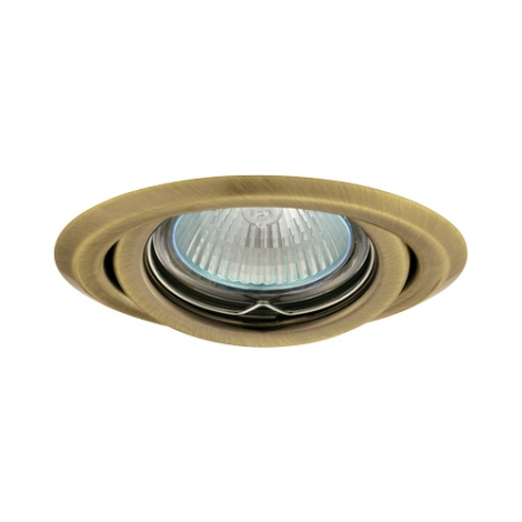 Podhledové svietidlo AXL 2115 1xMR16/50W mosadz matná