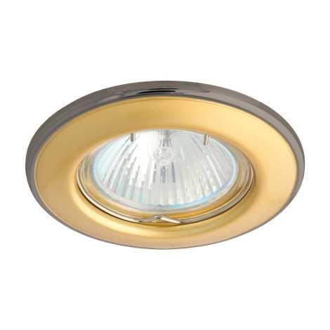 Podhledové svietidlo AXL 3114 1xMR16/50W perleťově zlatá / nikel