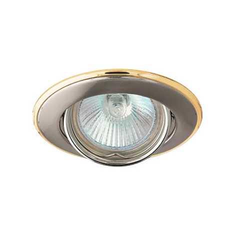 Podhledové svietidlo AXL 3115 1xMR16/50W saténový nikel / zlatá