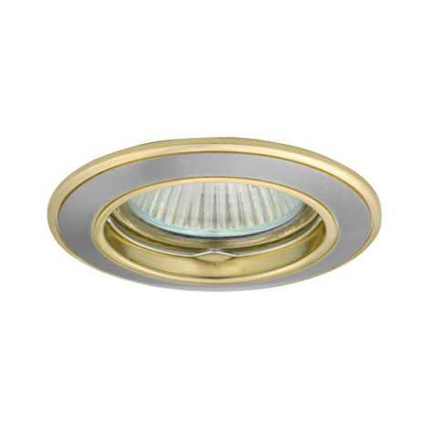 Podhledové svietidlo AXL 5514 1xMR16/50W saténový nikel / zlatá