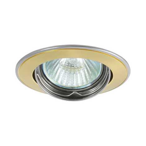 Podhledové svietidlo AXL 5515 1xMR16/50W perleťově zlatá / nikel