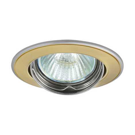 Podhledové svietidlo AXL 5515 1xMR16/50W saténové zlato / nikel