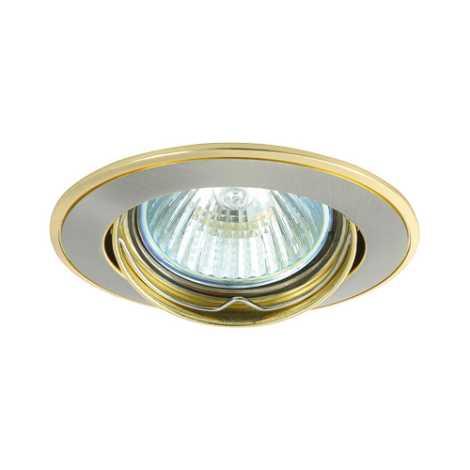 Podhledové svietidlo AXL 5515 1xMR16/50W saténový nikel / zlatá