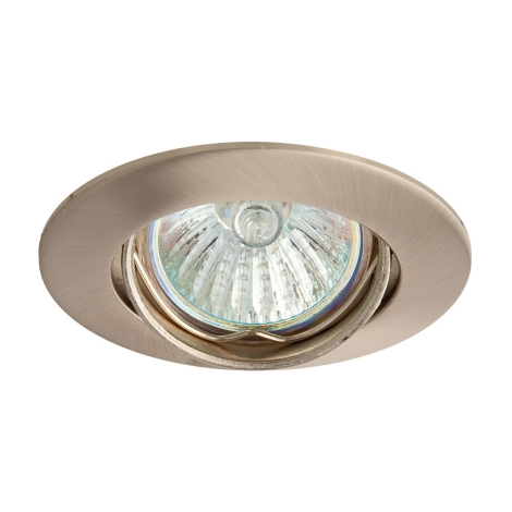 Podhledové svietidlo SLASH 5519 1xMR11/35W saténový nikel / nikel