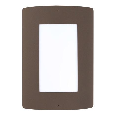 Polux SG1048BR - Vonkajšia lampa SAFON E27/ 40W/ 230V