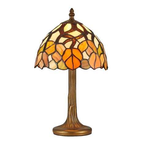 Prezent 121 - Stolná lampa TIFFANY 1xE14/40W/230V