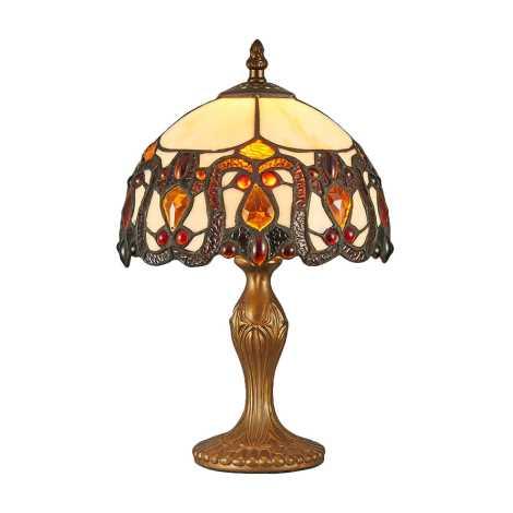 Prezent 124 - Stolná lampa TIFFANY 1xE14/40W/230V