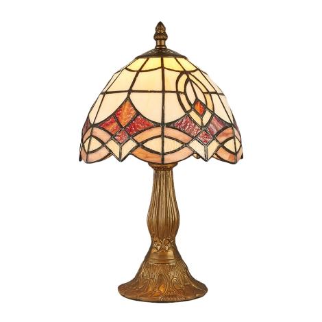 Prezent 127 - Lampa TIFFANY 1xE14/40W/230V