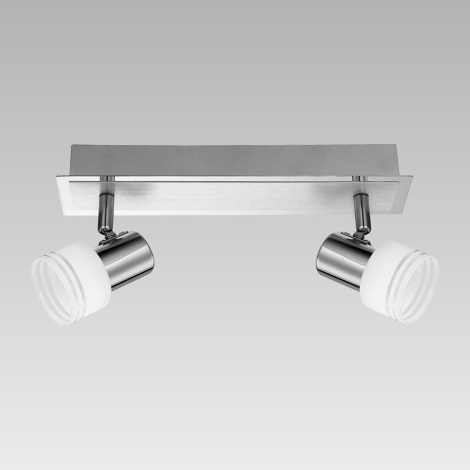 Prezent 49021 - Bodové svietidlo MONK 2xG9/33W/230V