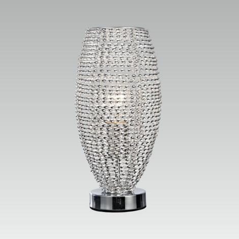 Prezent 64344 - Stolná lampa SCELETON 1xE27/60W/230V
