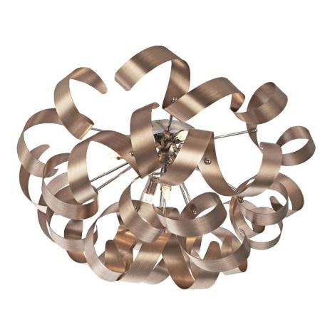 Prezent 64357 - Stropné svietidlo RIBBON 5xG9/33W/230V