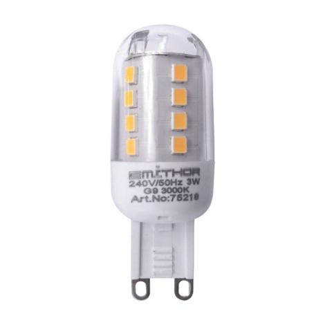 Prezent 75218 -  LED žiarovka 1xLED G9/3W/220-240V