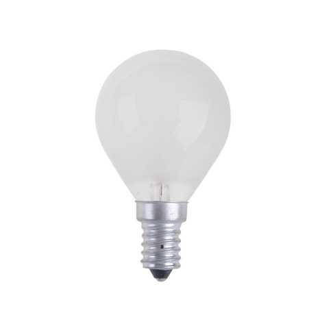 Priemyselná žiarovka BALL FROSTED E14/25W/230V