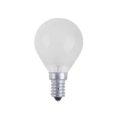 Priemyselná žiarovka BALL FROSTED E14/40W/230V