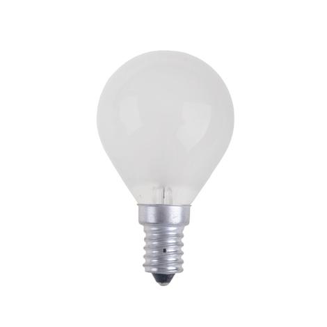 Priemyselná žiarovka BALL FROSTED E14/60W/230V